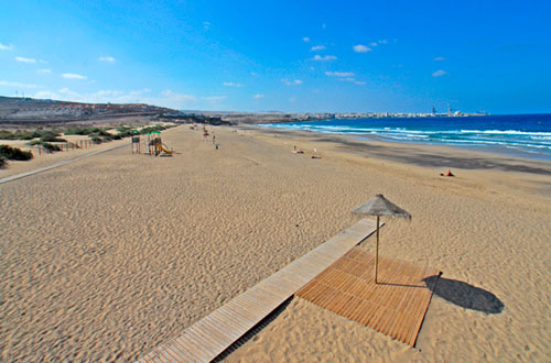 Blanca Beach, Puerto del Rosario