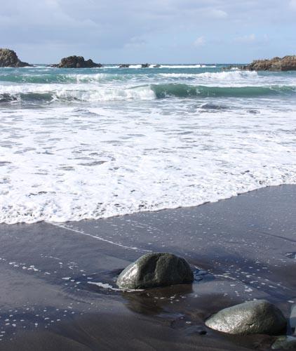 Roque de las Bodegas Beach