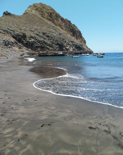 Playa de Antequera, Santa Cruz de Tenerife, las Islas Canarias