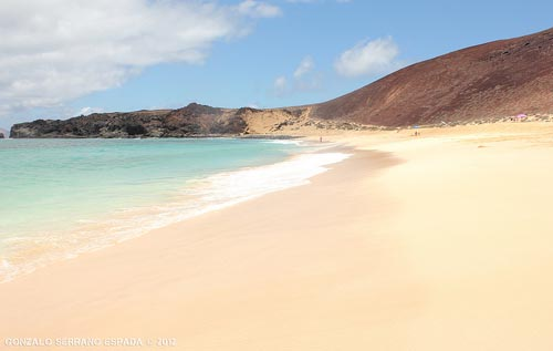 Las Conchas Beach, La Graciosa