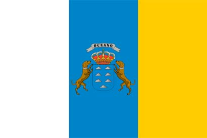 The Canary Islands Flag