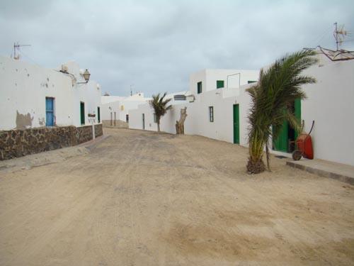 streets of Caleta del Sebo, La Graciosa Island