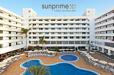 Aparthotel Sunprime Coral Suites AND Spa, Costa Adeje - Tenerife