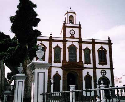 Church of the Concepción in Agaete
