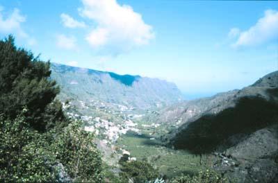 La Majona Rural Park in La Gomera