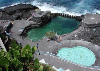 Charco azul la palma for Piscina natural tenerife