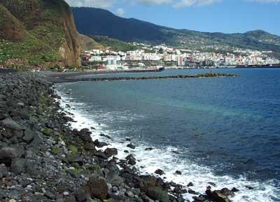 Playa de Bajamar Beach, La Palma