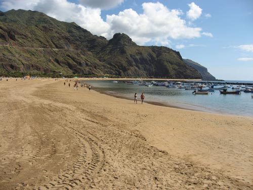 Beaches in Santa Cruz de Tenerife