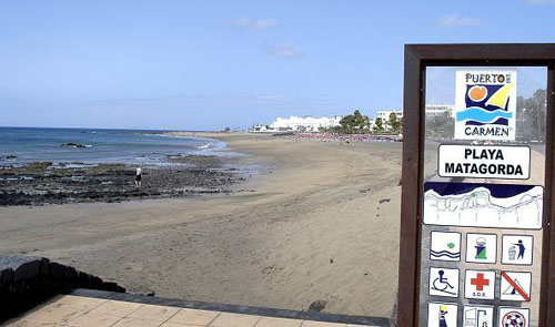 Matagorda beach lanzarote - Car rental puerto del carmen ...
