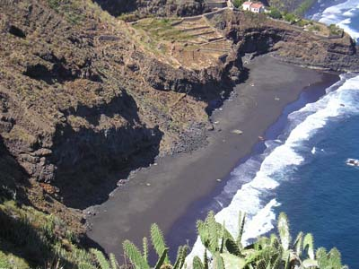Ancón Beach and Santa Ana Beach in Tenerife