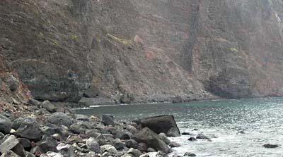 Las Arenas Beach, La Gomera