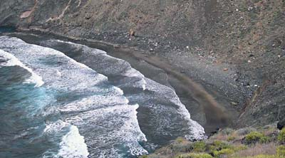 Playa La Sepultura Beach, La Gomera