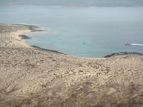 Beaches in La Graciosa