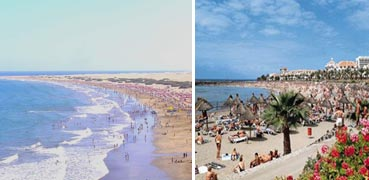 Beaches in the Canary Islands