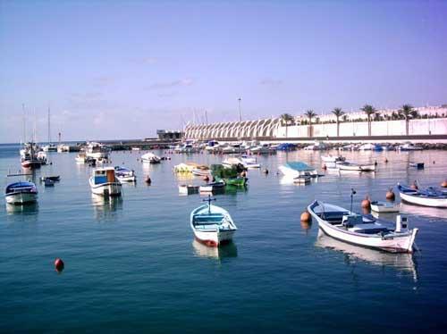 Puerto de Tazacorte in La Palma