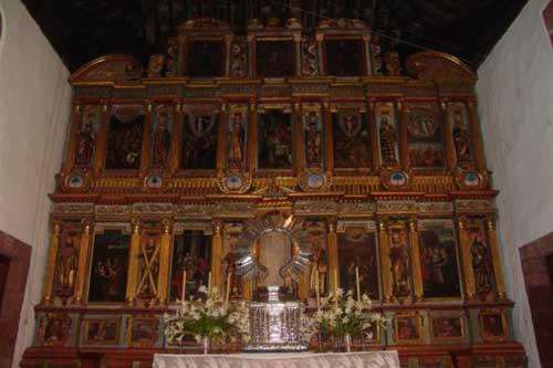 Retablo Mayor Iglesia de la Candelaria