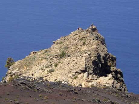 Roque Teneguía, Fuencaliente de la Palma