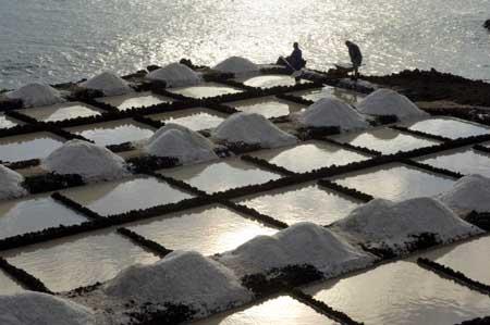 Salinas de Fuencaliente de La Palma Saltworks