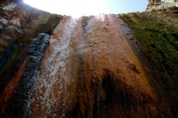 Colourful Waterfall Caldera de Taburiente National Park