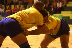Canarian Wrestle in El Hierro