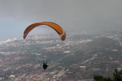 Paragliding in Los Realejoss