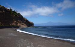 La Cueva Beach, La Gomera