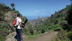 Hiking in  La Gomera