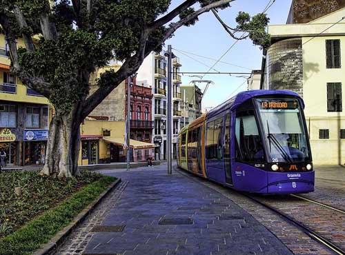 Tranvía in Tenerife