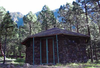 La Caldera de Taburiente Camping Site